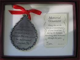 memorial teardrop ornament god saw