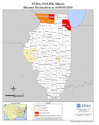 Map Of The State Of Illinois by Illinois Severe Storms And Flooding Dr 1935 Fema Gov