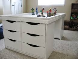 ikea craft table hack 5 awesome diy tables craftwhack