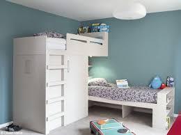 photo de chambre enfant chambre deux garcons bleu blanc chambre oscar