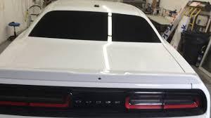 Dodge Challenger Front Bumper - 2016 dodge challenger suntek window tint carbon series 35 front 5