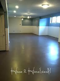 painted concrete kitchen floor ideas concrete painted floors