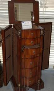 brown jewelry armoire cherry wood jewelry armoire foter
