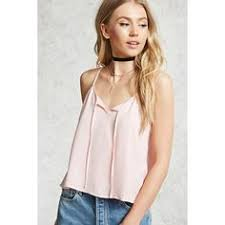 light pink tank top forever 21 pin by this s life on style sweet satin lace pinterest satin