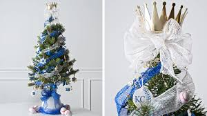 Royal Blue Christmas Tree Decorations by 12 Creative Christmas Tree Decorating Ideas Hallmark Ideas