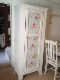 simply shabby chic misty rose pretty little shabby chic wardrobe with shelves added inside on