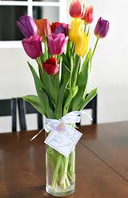 Pretty Vase Mother U0027s Day Gift Idea Flowers For Mom U2013 Fun Squared