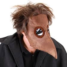 purge mask spirit halloween plague doctor men s costume venetian masquerade fancy dress