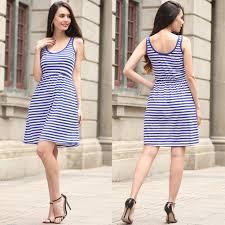2017 spring women u0027s beautiful striped dress women u0027s short skirt