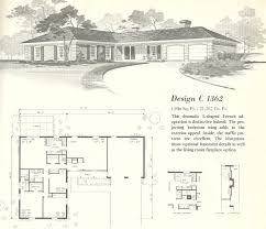 Ranch Home Plans Delightful 1960s Ranch House Plans Vintage House Plans 1960s