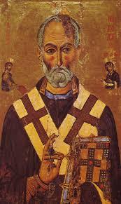 St Nicholas Meme - when santa punched a heretic st nicholas memes