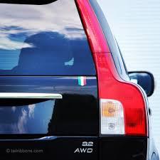 Flag Of Itali Flag Of Italy Car Sticker 1 3 8