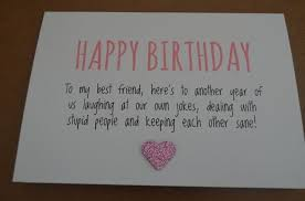 In Birthday Card Birthday Card Free What To Write In A Birthday Card For A Friend