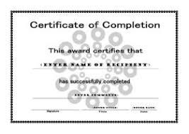 free certificate template