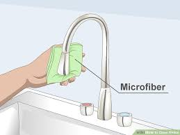 How To Clean Brushed Nickel Faucet 3 Ways To Clean Nickel Wikihow