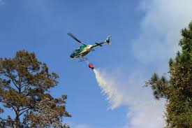 Wildfire Radio by Pilot Ok After Marion County Sheriff Helicopter Crashes While