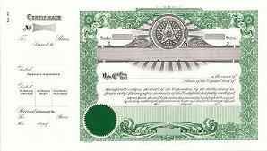 21 stock certificate templates free sample example format college