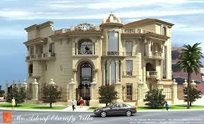 ashraf el serafey villa interior and exterior design project