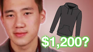 people guess the prices of hoodies youtube
