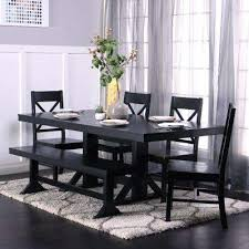 black dining room set black dining room sets kitchen dining room furniture the