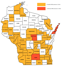 Map Of Southeast Wisconsin by Newsletter Spotted Wing Drosophila