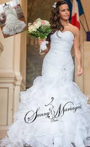 robe sirene mariage robe de mariee petula de sunnymariages forme sirene pour metrer