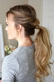 ponytail hair everyday flip twist ponytail sue