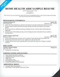 sample resume for caregiver for an elderly cover letter example
