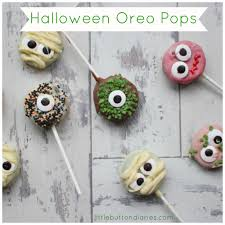 kids baking halloween oreo pops little button diaries