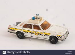 police car toy matchbox super kings jaguar xj12 police car toy stock photo