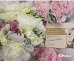 wedding flowers auckland peonie wedding bouquets wedding flowers from best blooms