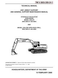 tm 5 3805 280 24 1 john deere 230lcr hyex part 1 valve