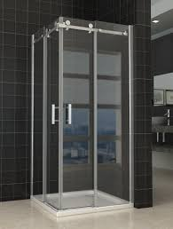 frameless glass doors for showers corner shower screens with sliding doors saudireiki