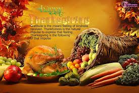 happy thanksgiving food wishes wallpaper