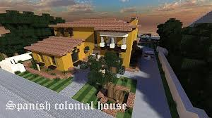 spanish colonial house minecraft project