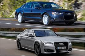 images of audi s8 2018 audi a8 vs 2018 audi s8 plus worth the upgrade u s