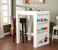Craft Table Desk Kitchen Small Craft Desk Storage Wooden Craft Table Square Work