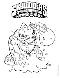 printable skylanders coloring pages skylanders birthdays and