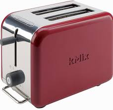 Red Kitchenaid Toasters Amazon Com Delonghi Kmix 2 Slice Toaster Red Kitchen U0026 Dining
