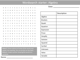 introduction to substitution animated powerpoint worksheet