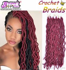 crochet braid hair 2018 24root curly faux locs crochet braiding hair 12 20soft wavy