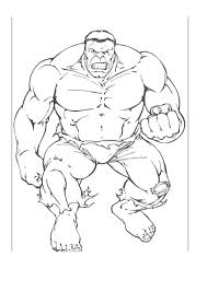 hulk coloring pages coloring pages