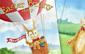 the story of the easter bunny personalised the easter bunny story book i just it