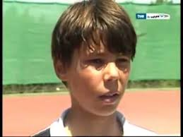 11 years old that has highlights at the bottom of their hair rafael nadal 12 years old roland garros chion highlights
