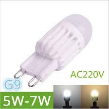 mini led light bulbs newest g9 led l 5w 7w 220v mini led g9 led light bulb ceramic