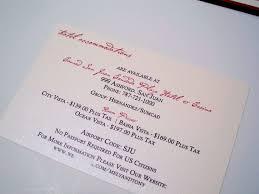 Accommodation Cards For Wedding Invitations Fabulous Wedding Invitations With Ribbon With Wedding Invitation