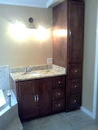 Bathroom Linen Cabinets Bathroom Linen Cabinets Tower Bath Storage Intended For Vanity
