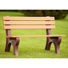 park benches polly products econo mizer commercial grade recycled plastic park