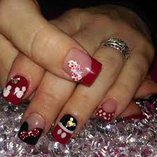 nail art acrylic nail designs cute simple 2017acrylic