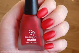 review of golden rose matte nail lacquer in 16 my reviews